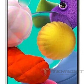 Смартфон Samsung Galaxy A51 64GB, белый