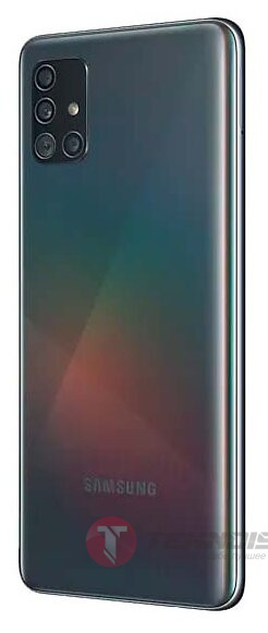 Смартфон Samsung Galaxy A51 64GB, черный